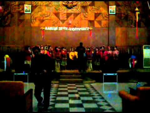 Kabumi - Everybody knew (angklung version)
