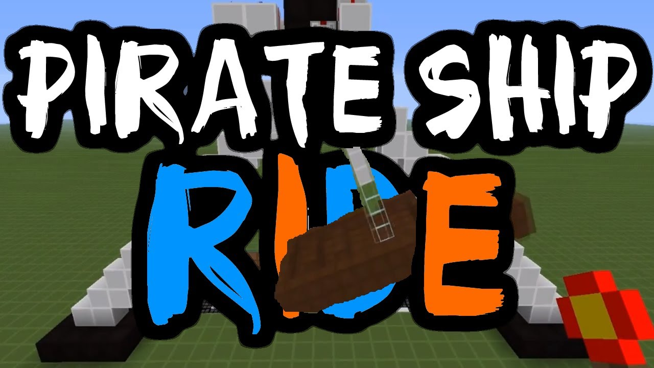 How to make a pirate ship in minecraft with cannons