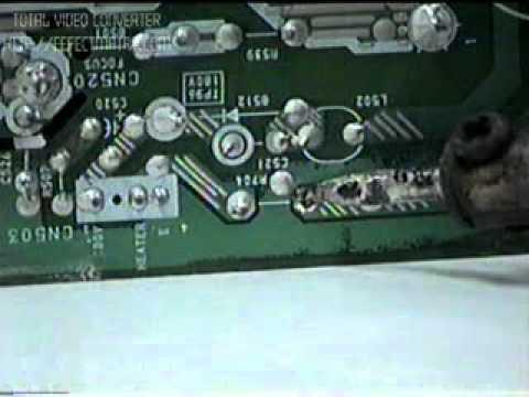 reparacion de tv .oscar parte (1/3)