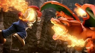 Super Smash Bros. 4 Charizard/Greninja Trailer