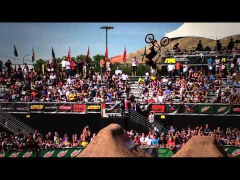 Dew Tour - Dennis Enarson, Brett Banasiewicz - BMX Dirt Finals Highlights - Salt Lake City 2010