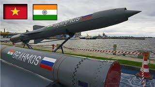Việt Nam tiếp nhận lô tên lửa BrahMos từ Ấn Độ đầu tiên?