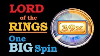 ★ BIG SLOT MACHINE SPIN! Lord Of The Rings One Ring Slot