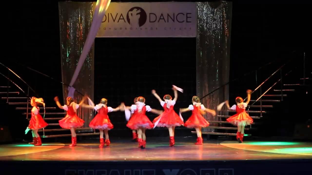"""Видео """"Детский отчетный концерт в Гигант-холле 02.06.13"""". Шоу-группа «Дива» (младший состав)."""