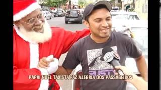 Papai Noel d� carona nas ruas de BH