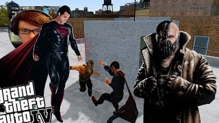 GTA 4 Man Of Steel Mod + Bane Mod This Is A Strange