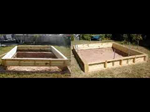 Building a backyard pond youtube for Building a koi pond step by step
