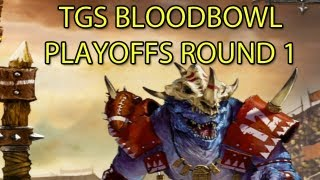 TGS Blood Bowl Playoffs - Crendor vs Angry Joe (Skittles Time to Shine)