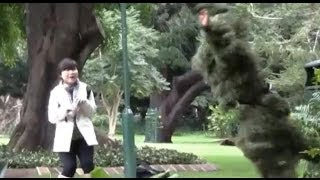 [Bushman SCARE PRANK (Caught by Police)]