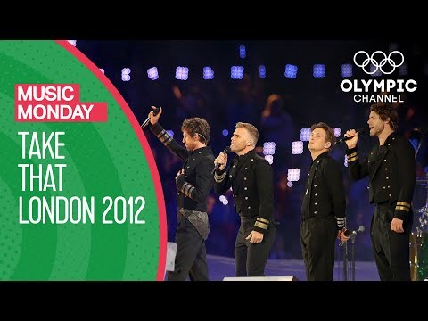Closing Ceremony - Take That - London 2012 Olympic Games