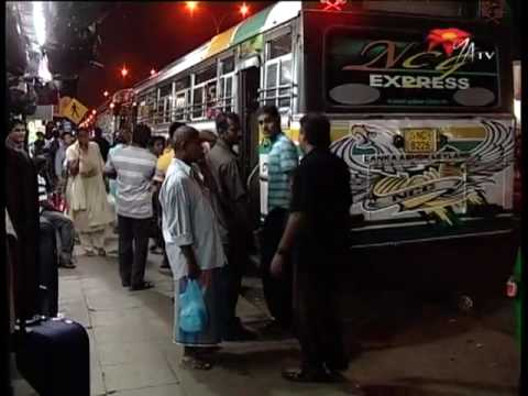 Freedom of Movement: The Colombo-Jaffna Bus Service - NWZ374d