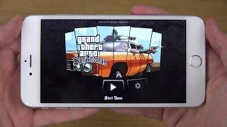 GTA San Andreas IPhone 6 4K Gameplay Review