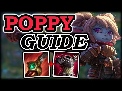How to Poppy Jungle - Poppy Jungle Guide - League of Legends Champion Guide: Poppy