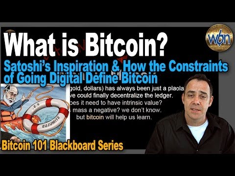 Bitcoin 101 - What is Bitcoin? - A Beginning Video for Bitcoin Newcomers