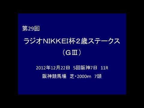 2012年 第29回 ラジオNIKKEI杯2歳ステークス(GⅢ) エピファネイア