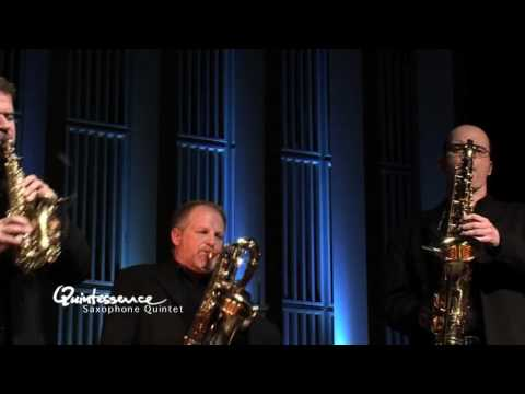 Quintessence Saxophone Quintet Plays Bach: Fudge F
