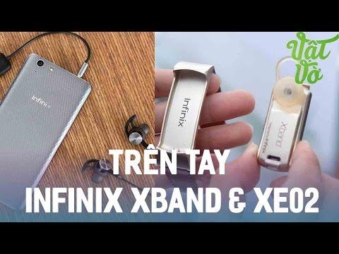 Vật Vờ  Trên tay tai nghe chống ồn & Smartwach Infinix Xband