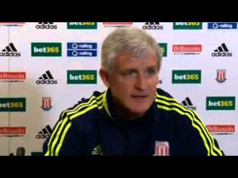 Chelsea vs Stoke City ~ Mark Hughes press conference