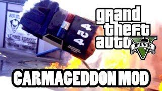 GTA 5 Carmageddon Mod! (Epic mod!)