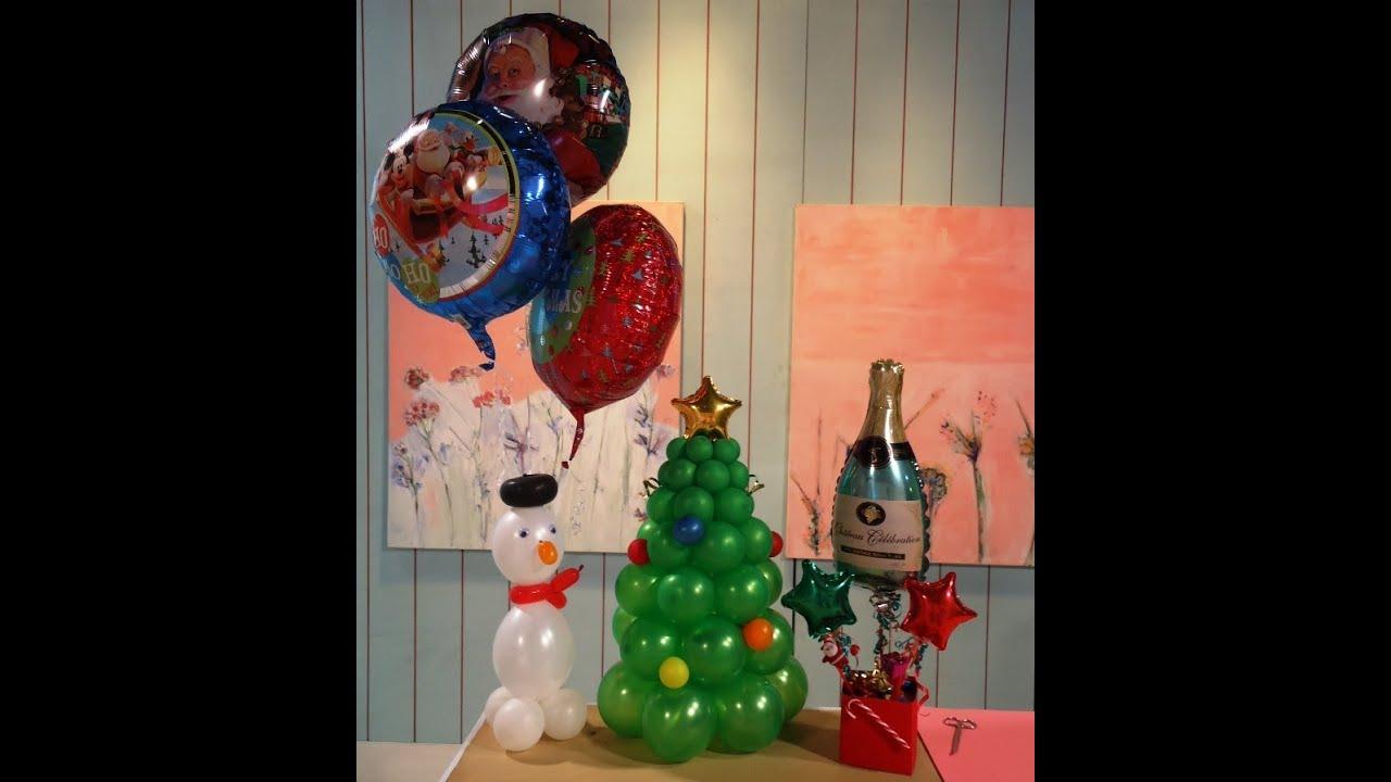 Manualidades con globos como hacer adornos navide os - Hacer decoraciones con globos ...