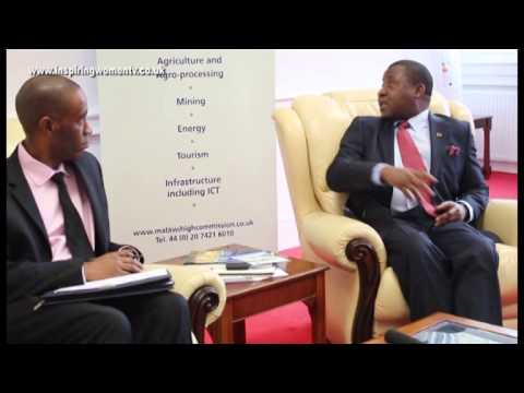 InspiringWomen TV - Malawi High Commissioner, His Excellency Bernard Sande.
