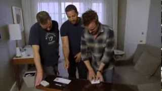 David Blaine Freaks Out Breaking Bad stars Aaron Paul and Bryan Cranston