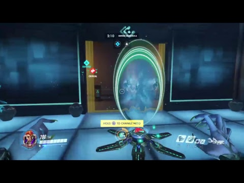 Overwatch gameplay
