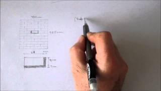 Albañilería - Cálculo de cantidades de ladrillos