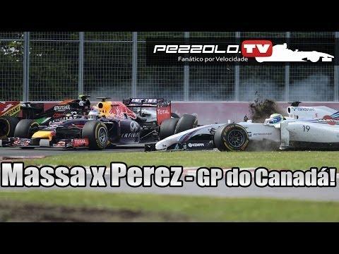 Felipe Massa x  Sérgio Perez - GP do Canadá