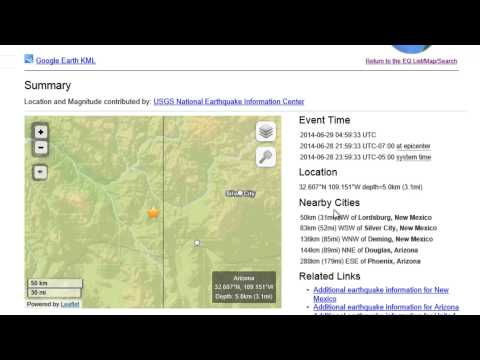 Breaking News 5.2 Earthquake Hits Lordsburg New Mexico
