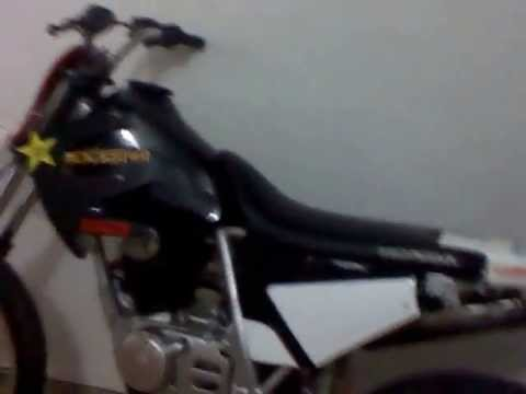 honda xl 125 modelo 82 modificada