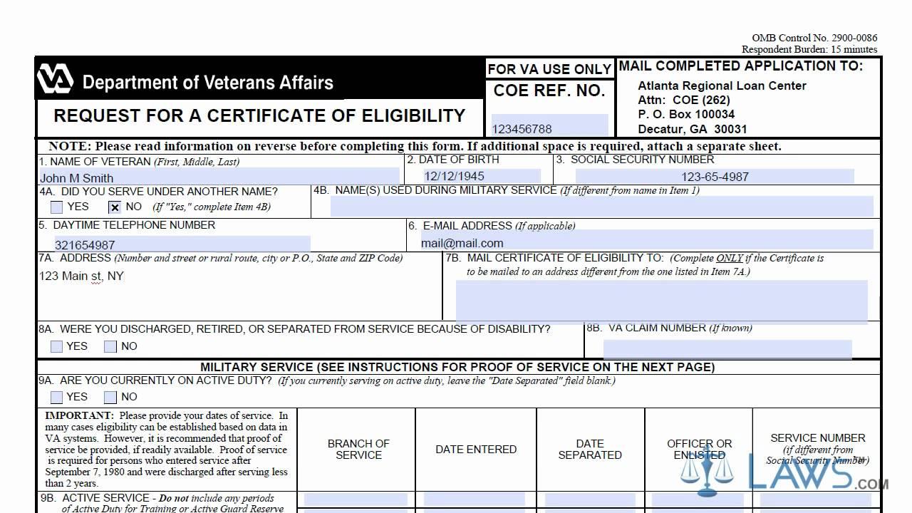 Va.gov Forms - Information