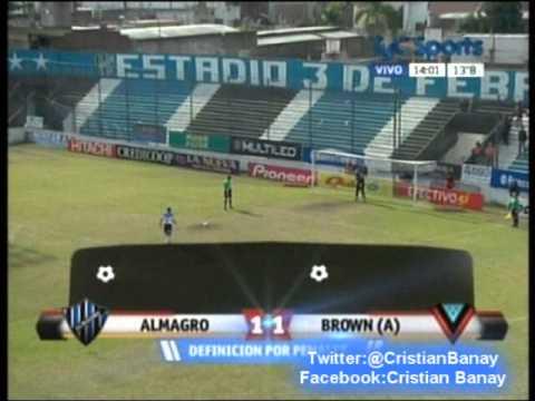 Almagro 2-0 CA Brown Adrogue