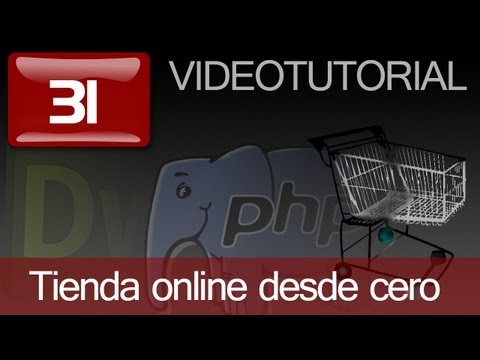 Tutorial: Como hacer tienda online en PHP con Dreamweaver. Capitulo 31