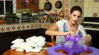 Corona De Pañales Para Baby Shower