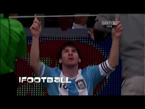 Brazil vs Argentina 3-4 (HD) - Amazing Goal Lionel Messi! Argentina vs Brazil 4-3, June 9th, 2012