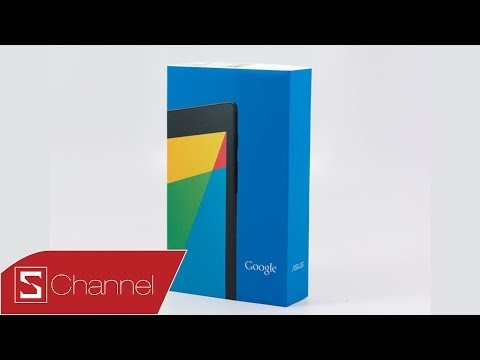 Mở hộp Nexus 7 32GB chính hãng bản 3G+Wifi