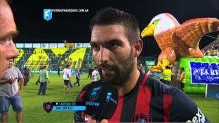 """Cauteruccio: """"Teníamos que ganar"""". Defensa 1 - San Lorenzo 2. Fecha 2. Primera División 2015. FPT."""