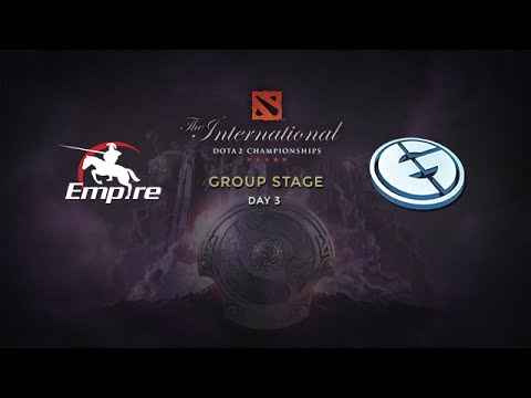 Empire -vs- EG, The International 4, Group Stage, Day 3