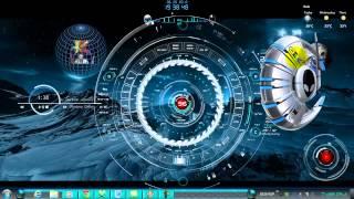 LAGU BUAT CEWE GILA ☠ (FEAT SKIN RAINMETER windows 7 desktop THEMES