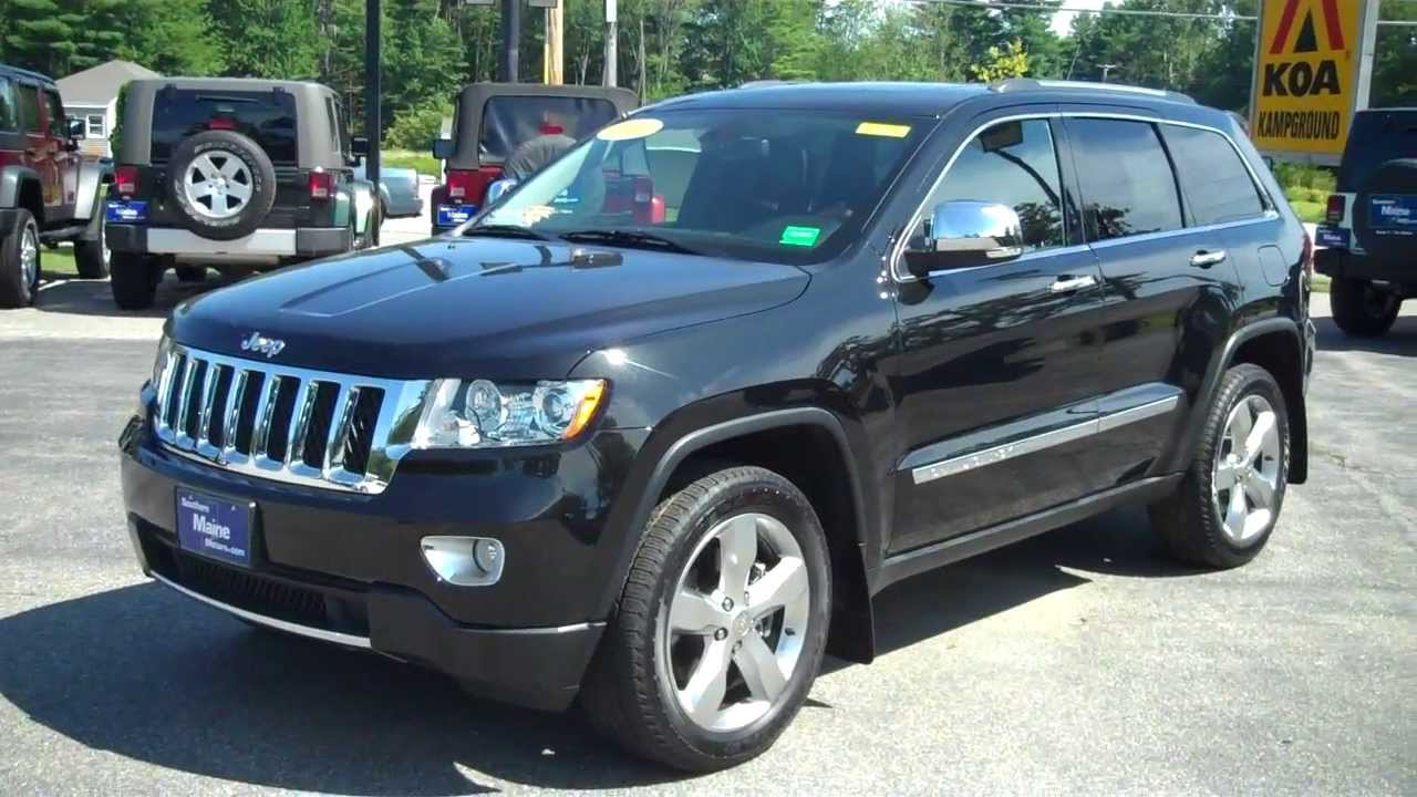 Used 2012 jeep grand cherokee overland j7915b southern Southern motors used cars