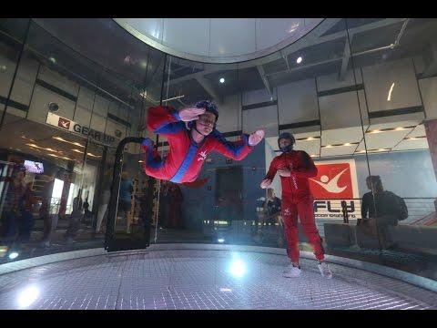 Beginner Indoor Skydiving