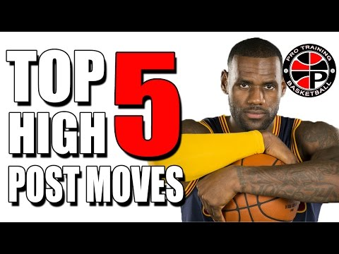 Top 5 High Post Moves | Dominate The High Post | Pro Training Basketball