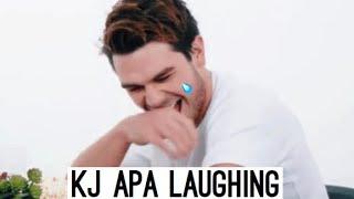 KJ APA LAUGHING COMPILATION