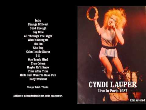 Cyndi Lauper - Live in Paris 1987 (Remastered)