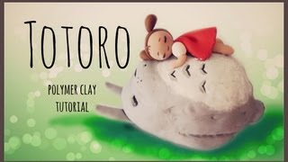 Totoro Studio Ghibli Series Polymer Clay Tutorial