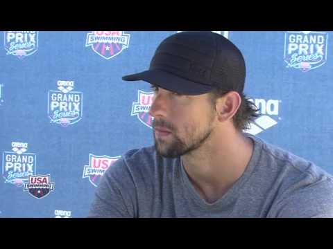 Michael Phelps Press Conference 6/19/2014