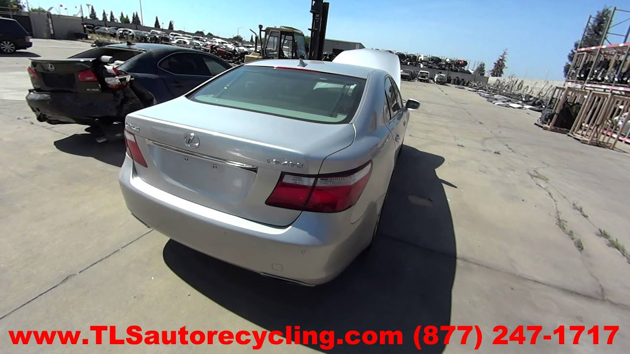 maxresdefault parting out 2007 lexus ls 460 stock 5101gr tls auto recycling  at cos-gaming.co