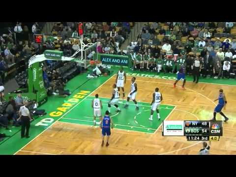 Andrea Bargnani 22 points vs Boston Celtics full highlights 2013/12/13
