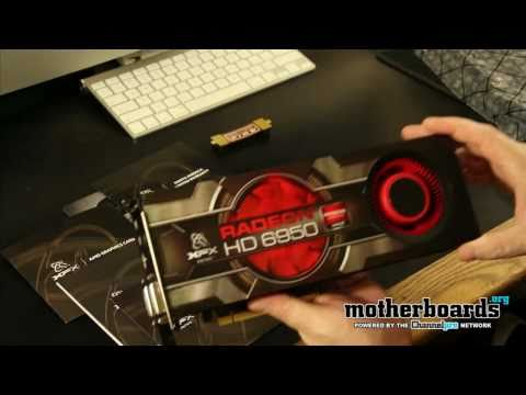 XFX AMD HD 6950 2GB Unboxing & Hands On!
